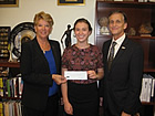 J. Edgar Hoover Foundation's Cartha (Deke) DeLoach Forensic Scholarship awarded to Alison G. Simon